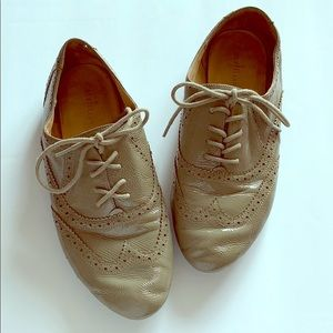 Cole Haan Relaxed Leather Oxfords